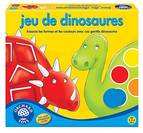 Orchard Toys- Societe-Jeu de Dinosaures, 153