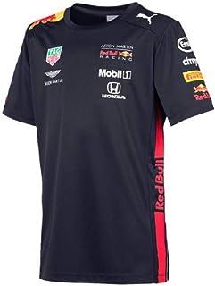 Red Bull Racing Jungen Aston Martin Kids Team Tee 2019, 128 7-8 T-Shirt, Blau Navy Navy, Herstellergröße