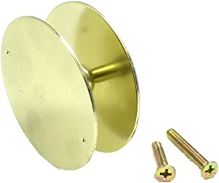 NU-Set 2171-3 Brass NuSet Door Hole Cover Plate