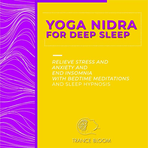 Yoga Nidra for Deep Sleep audiobook cover art