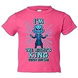 Camiseta niño parodia de Juego de Tronos I Am The Night King Carpe Noctem - Rosa, 9-11 años