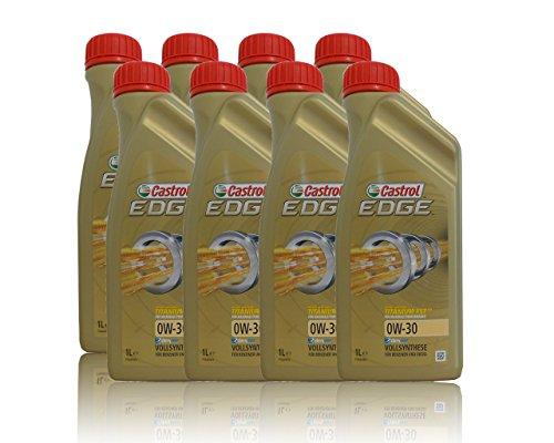 Castrol Edge 0W-30 8X - Aceite sintético para motores de motocicletas (1 L)