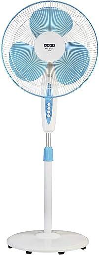 Usha Mist Air Icy 400mm Pedestal Fan (Blue)