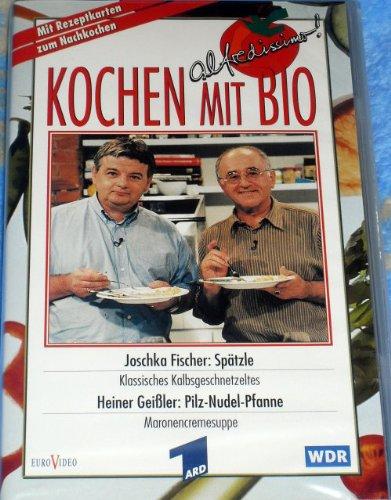 Kochen mit Bio - Joschka Fischer: Spätzle - Heiner Geißler: Pilz-Nudel-Pfanne
