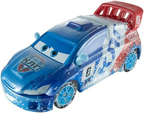 Disney Pixar CARS Ice Racers - Special Icy Edition RAOUL CAROULE by Mattel