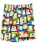 Family Guy Men's Briefly Stated Boxer Shorts Underwear (Large, Multi)