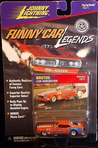 tienda en linea Johnny Johnny Johnny Lightning - Funny Car Legends - Lew Arrington - Brutus - Season  1971 by Johnny Lightning  la mejor oferta de tienda online