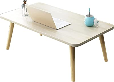WSVULLD Coffee Table, Home Bed (H31.2Cm) Low Table, Multifunctional Bedroom/Living Room Leisure Study Table, Sofa Side Table,a,80 * 40 * 31.2Cm (Color : C, Size : 60 * 40 * 31.2Cm)