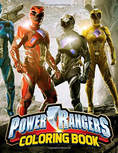 Power Rangers Coloring Book: Relaxation Coloring Book for...