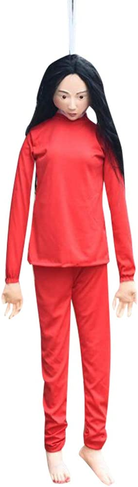 ifundom Halloween Miami Mall Decorations Max 55% OFF Red Suicide Horror Pendent Sadako