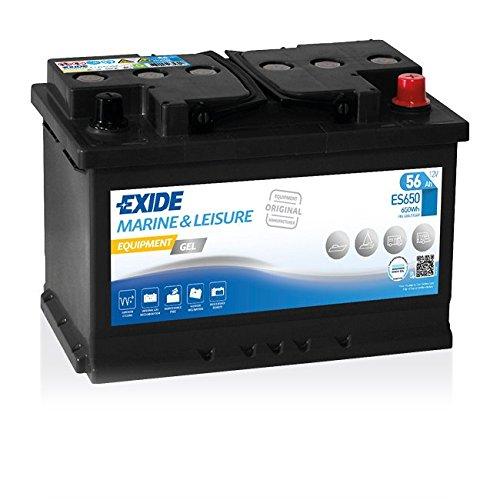Exide Equipment Batterie GEL ES 650