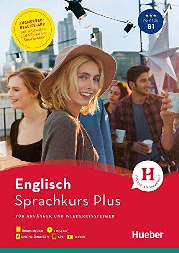 Hueber Sprachkurs Plus Englisch: Für Anfänger und Wiedereinsteiger / Buch mit MP3-CD,...