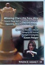 Winning Chess the easy way Susan Polgar DVD Series Vol 2