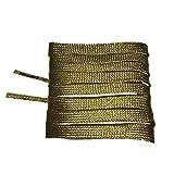 Mr Lacy Smallies - Schnürsenkel - Flach kurz - 90 cm - Gold