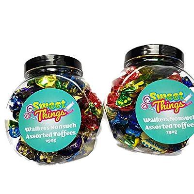 toffee & eclairs walkers assortment gift jar 2 jar bundle Toffee & Eclairs Walkers Assortment Gift Jar 2 Jar Bundle 51glLv3C9lL