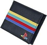 Monedero Playstation Plegable, Negro (16 cm)