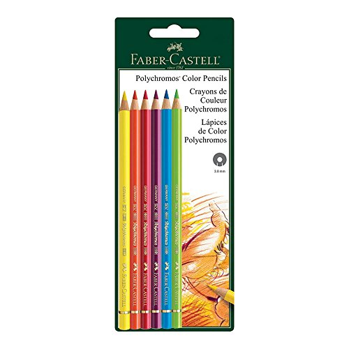 Faber-Castell Polychromos 6 ct bc matite colorate multicolore