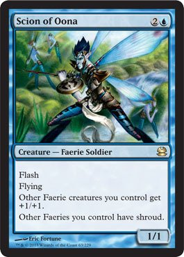 Magic The Gathering - Scion of Oona - Modern Masters - Foil