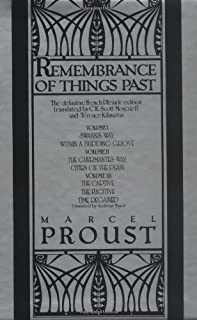 Remembrance of Things Past Volumes 1-3 Box Set