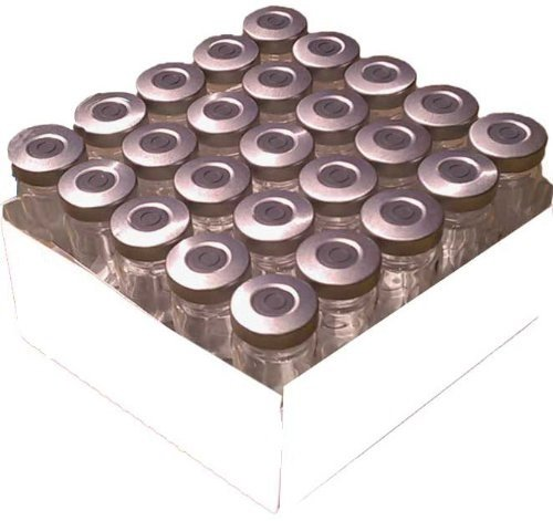 10mL Sterile and Sealed Clear Glass 2021 Super sale period limited new - Vial Silver Pack 25