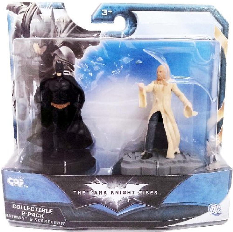 vendiendo bien en todo el mundo The Dark Knight Knight Knight Rises Batman & SCocheecrow 3 Figura Collectible by Jakks Pacific  Con 100% de calidad y servicio de% 100.