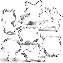 Woodland Animals Cookie Cutter Set