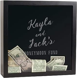 GiftsForYouNow Engraved Honeymoon Fund Shadow Box, 13