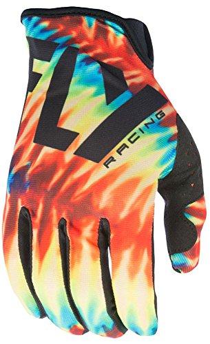 Preisvergleich Produktbild Fly Racing Lite LTD Motocross / Mountainbike Handschuhe tie-dye-schwarz 8