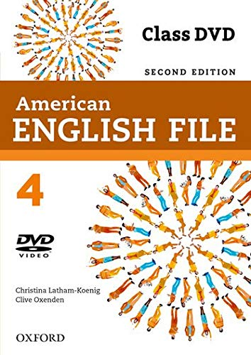 American English File 2E 4 Class DVD