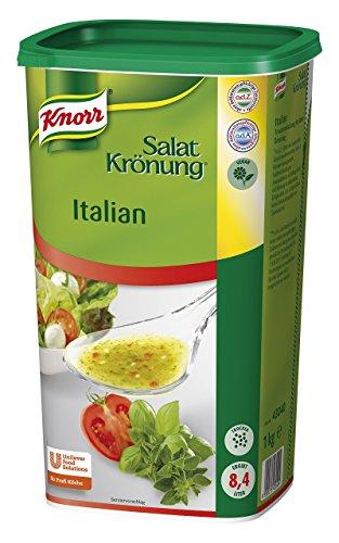 Knorr Salatkrönung Italienische Art (Salatdressing einfach zuzubereiten, flexibel einsetzbare Salatsoße) 1er Pack (1 x 1 kg)