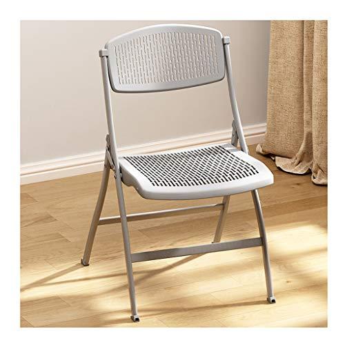 Klappstühle Mit Stahlrahmen Einfacher Freizeitstuhl Atmungsaktive Sitzfläche Starke Tragfähigkeit Rutschfestes Fußpolster Auswahl