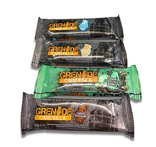 Grenade Carb Killa Barrette proteiche, confezione mista, 12x 60g