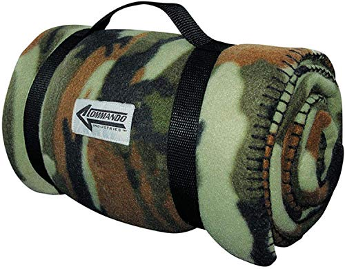 Army Style Couverture – Flausch Woodland