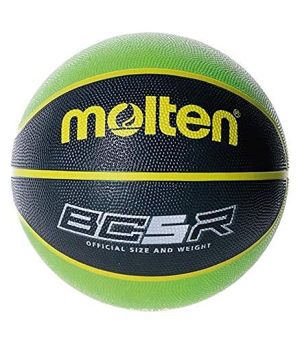 balón MOLTEN Balon Baloncesto BC5R2 Verde Negro Talla 5