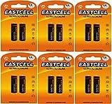 EASTCELL 12 x LR1 / N/Lady 1,5 V (6 blíster de 2 Pilas) Pilas alcalinas sin Mercurio 4001, 4901, MX9100, 910A