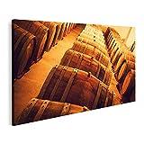 Bild auf Leinwand Der Weinkeller Bilder Wandbild Poster