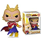 Lotoy Pop My Hero Academia Series - Silver Age All Might #608 Vinyl 3.75inch Animation Figure Anime ...