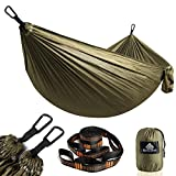 NATUREFUN Ultra-Light Travel Camping Hammock | 300kg Load Capacity,(275 x 140 cm) Breathable,Quick-drying