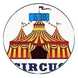 Escala digital de peso corporal de precisión Ronda Decoración de circo...