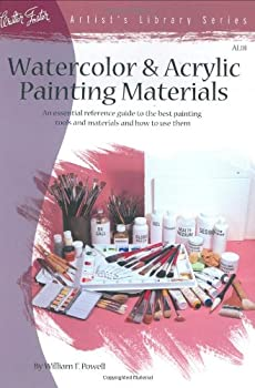 Paperback Watercolor and Acrylic Painting Materials Book