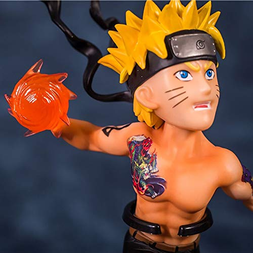 Yvonnezhang Anime Naruto y Sasuke Uchiha con Juguetes de Figuras ...
