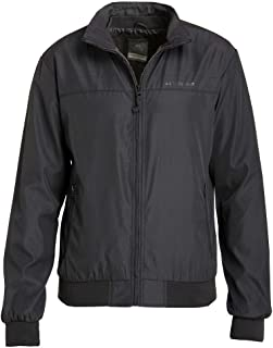 Crosshatch Smartz Men's Classic Everyday Smat Bomber Jacket, Lightweight Coat with High Collar and Pockets for Everyday Wear