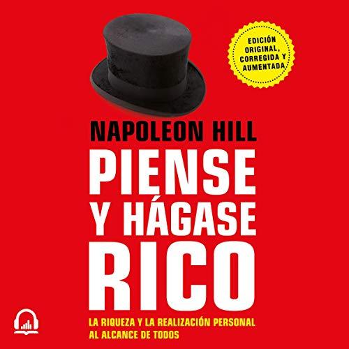 Piense y hágase rico audiobook cover art