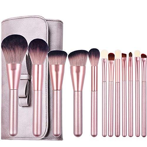 Ensemble De Pinceaux De Maquillage 12Pcs Surligneur Poudre À Paupières, 12Pcs B