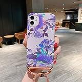 JIAHENG Cas de téléphone de Haute qualité for iPhone 11 Pro Max Laser Motif Doux TPU étui de...