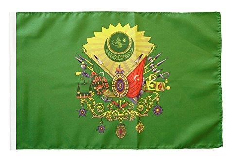 Flaggenfritze® Flagge Osmanisches Reich Wappen - 30 x 45 cm