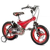 BaoKangShop Draisiennes Vélo for Enfants vélo à pédales choquant for Les Enfants Landau de la Maternelle de 2 à 10 Ans Vélos et Véhicules pour Enfants (Color : Red, Size : 16 inches)