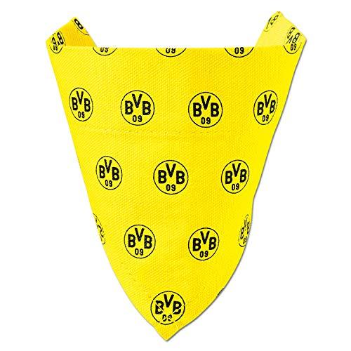 Borussia Dortmund Hundehalstuch, Dreieckstuch für Hunde BVB 09