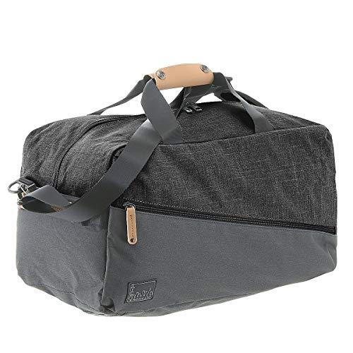 Roncato Adventure Bolsa de Viaje, 45 cm, 43 litros, Negro