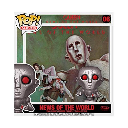 Funko- Pop Albums Queen News of The World Juguete Coleccionable, Multicolor (53081)